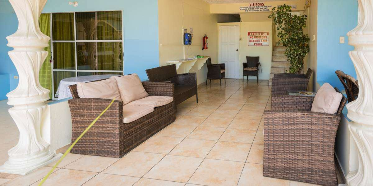 Surfside ground floor waiting area